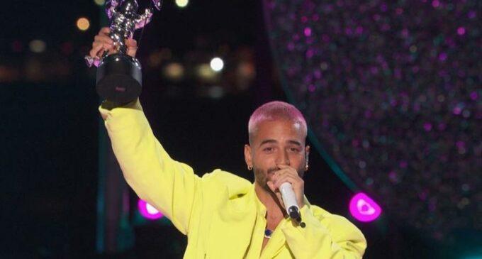 Реггетон новости. Колумбийский реггетонер Maluma выиграл приз MTV VMA за лучшее латиноамериканское музыкальное видео с песней «Qué pena»
