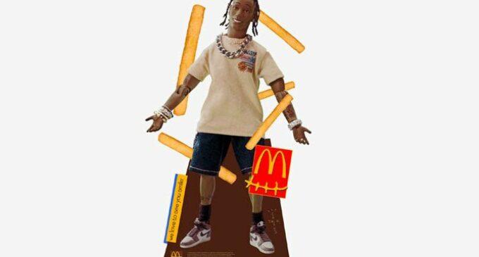 Новости шоубизнеса. Трэвис Скотт выпустил тапочки и подушку-нагетс для «Макдональдса»