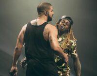 Рэп новости. Drake и Lil Wayne записали совместную песню