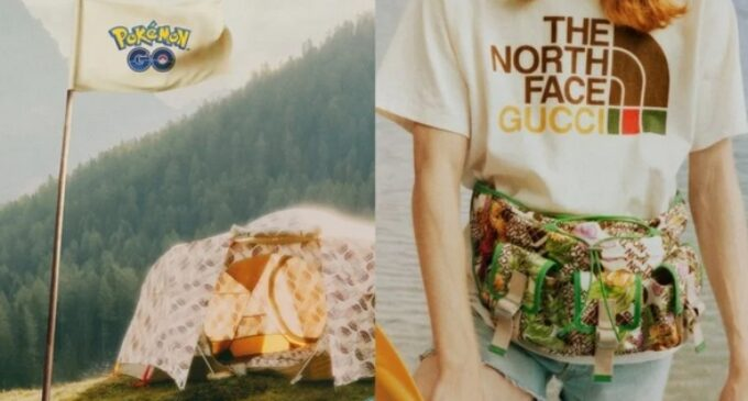 Новости моды. The North Face и Gucci объявили коллаборацию с Pokémon GO