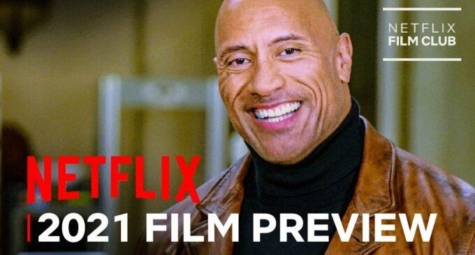 Новости киноиндустрии. Netflix показал превью фильмов 2021 года