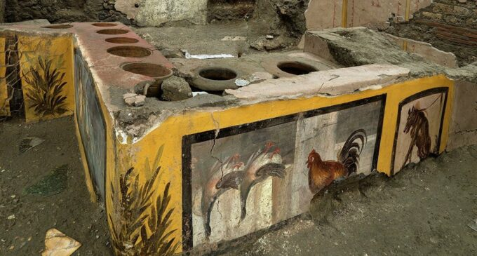 Немного истории. Кухня «Фаст Фуд» в Древнем Риме