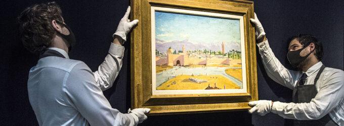 Джоли продала картину Черчилля за рекордные для его работ деньги