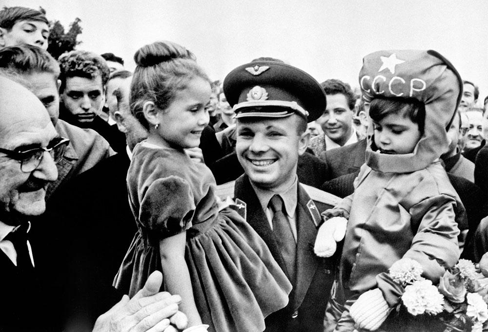 «Мелодия» оцифровала архивные интервью Юрия Гагарина и других первых космонавтов