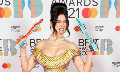 Музыкальные новости. Дуа Липа получила две награды Brit Awards