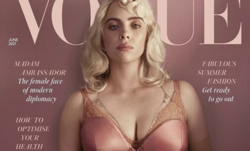 Планета шоубиз. Billie Eillish на обложке журнала Vogue