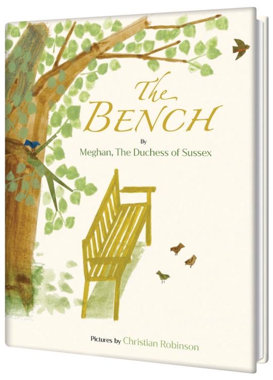 Меган Маркл написала детскую книгу. Она называется «Скамейка» и посвящена связи отцов и сыновей