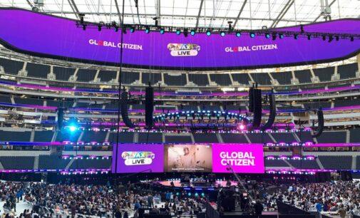 Музыкальные новости. В США прошёл грандиозный концерт с участием многих знаменитостей