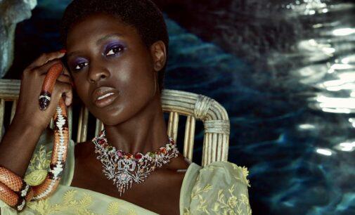В мире моды. Актриса Джоди Тернер-Смит стала лицом новой ювелирной коллекции Gucci