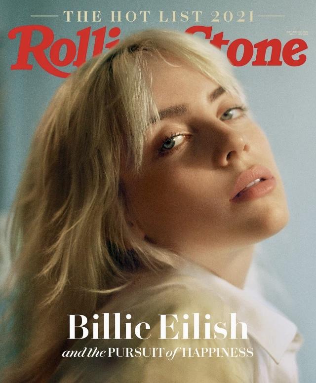 Билли Айлиш стала главной героиней нового номера журнала Rolling Stone