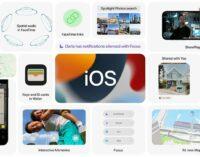Новости технологий. Apple представила iOS 15 с множеством новых функций
