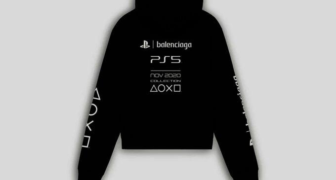 В мире моды. Balenciaga выпустил мерч для игровой консоли Sony PlayStation 5