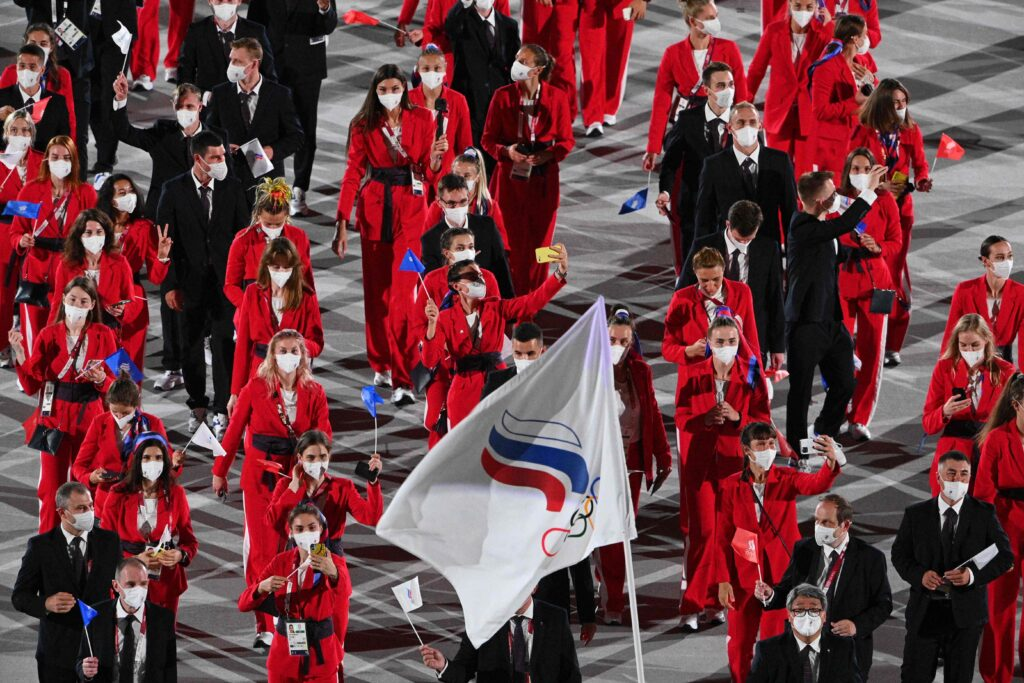 В открытии Олимпийских игр в Токио примут участие около шестидесяти спортсменов из России