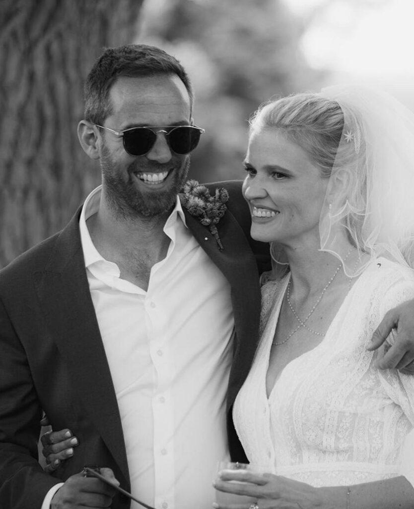 Модель Лара Стоун вышла замуж во второй раз