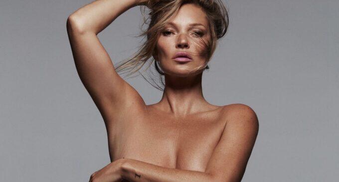 Планета шоубиз. Кейт Мосс – новое лицо бренда нижнего белья Ким Кардашьян