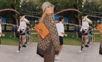 Модная индустрия. Дженнифер Лопес и Майкл Б. Джордан снова снялись в кампании Coach
