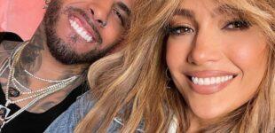 """Новости """"латинской"""" музыки. Дженнифер Лопес и Рау Алехандро выпустили совместный клип на хит «Cambia El Paso»"""