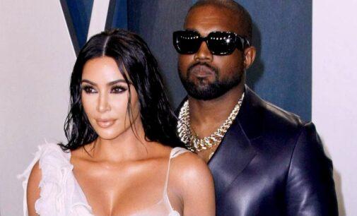 Рэп Америка. Ким Кардашьян вышла на сцену во время концерта Канье Уэста в свадебном платье