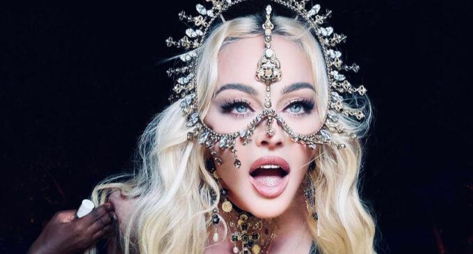 Мода и стиль. Замысловатое украшение от Rinaldy Yunardi для Madonna