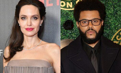 Новости шоубизнеса. Анджелина Джоли и The Weeknd снова подогрели слухи о романе