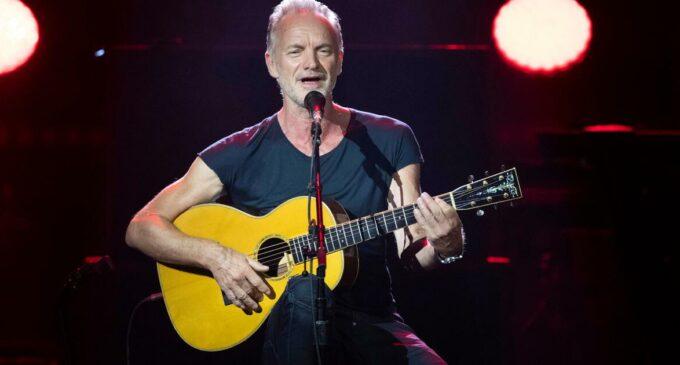 Новинки музыки. Sting анонсировал новый альбом «The Bridge» и выпустил сингл «Rushing Water»