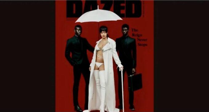 Планета шоубиз. Рианна снялась для обложки осеннего номера Dazed