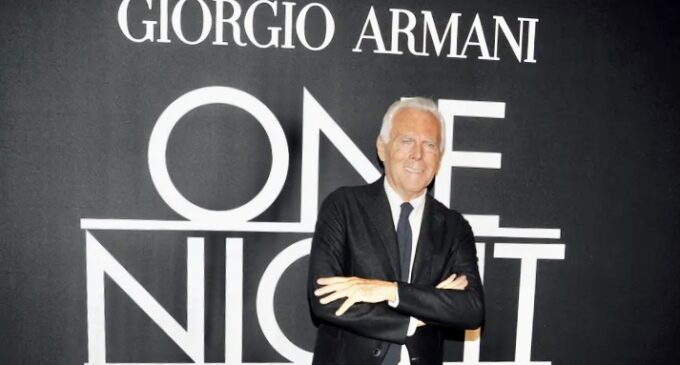 В мире моды. Джорджо Армани отметит юбилей Emporio Armani выставкой и масштабной кампанией