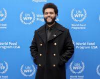 Новости шоубизнеса. The Weeknd стал послом Всемирной продовольственной программы ООН
