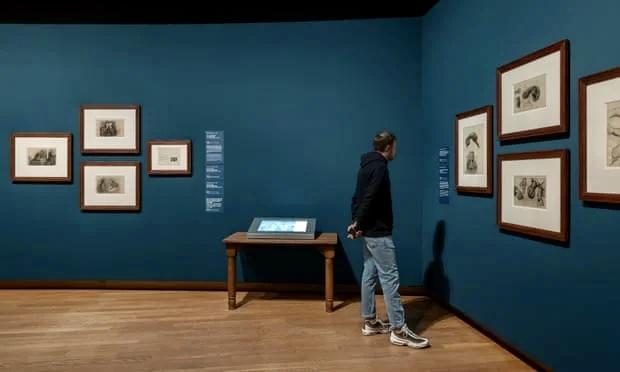 Малоизвестные эскизы Ван Гога показали в музее художника в Амстердаме
