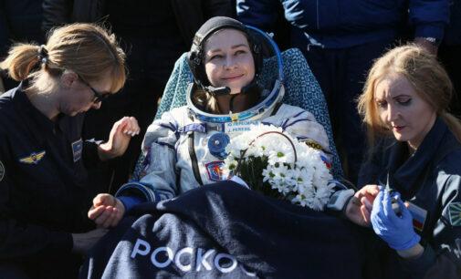 Последние новости. Корабль с Юлией Пересильд и Климом Шипенко и вернулся с МКС на Землю